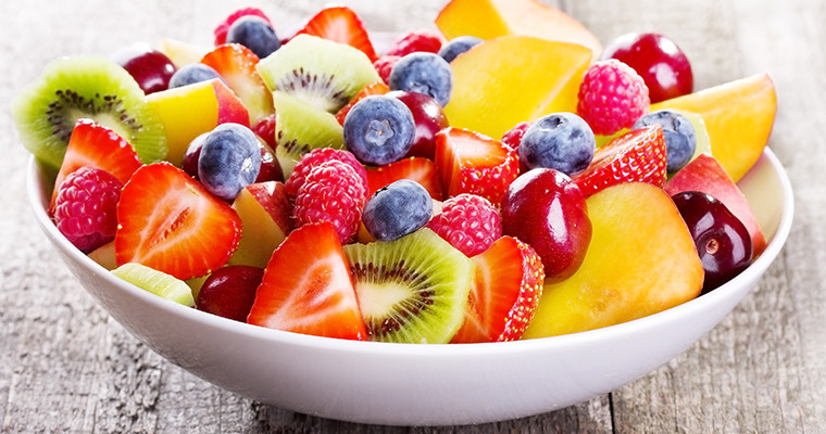 Clear Skin Fruit Salad